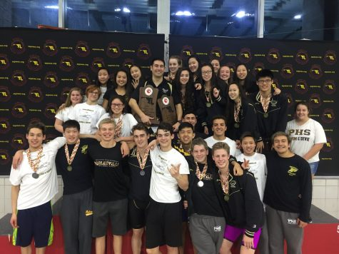 Swim and Dive team wins sixth championship