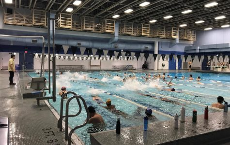 Swim and dive faces challenges in tougher division, looks for victory against Whitman