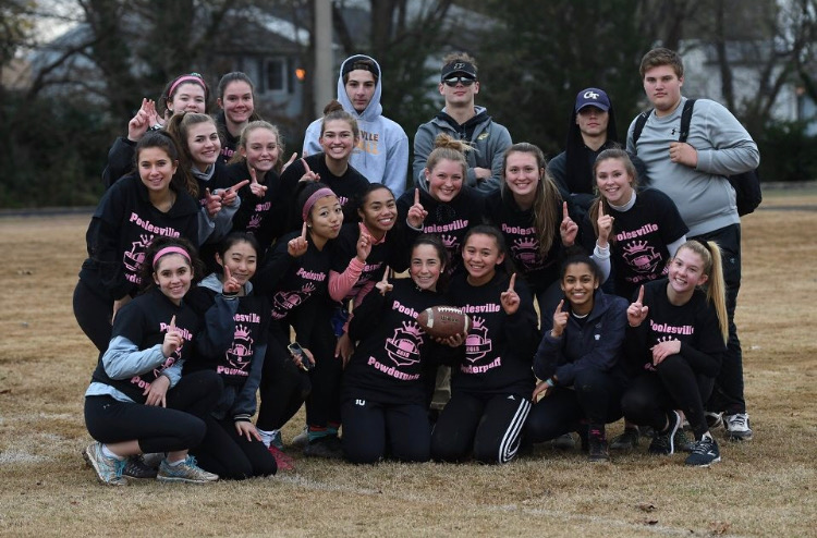 Junior+Powderpuff+Players+and+Coaches