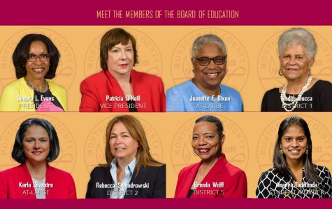 For the first time in MCPS history, the school board is all-female