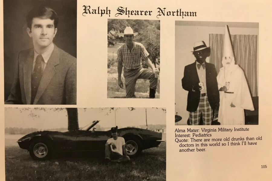 Virginia Governor Ralph Northam caught in racism scandal