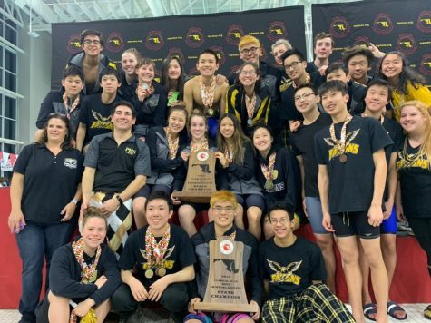 Poolesville Swim and Dive wins their eighth consecutive state championship