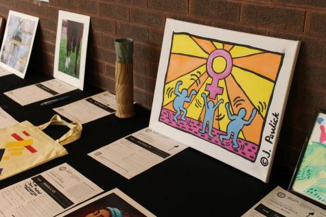 Student-created art takes over the Falcon Foyer
