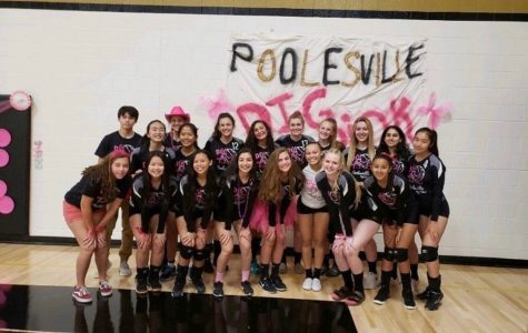 Volleyball team promotes breast cancer awareness through Dig Pink