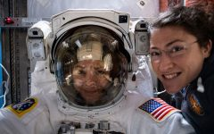 American Astronauts Perform First All-Female Spacewalk