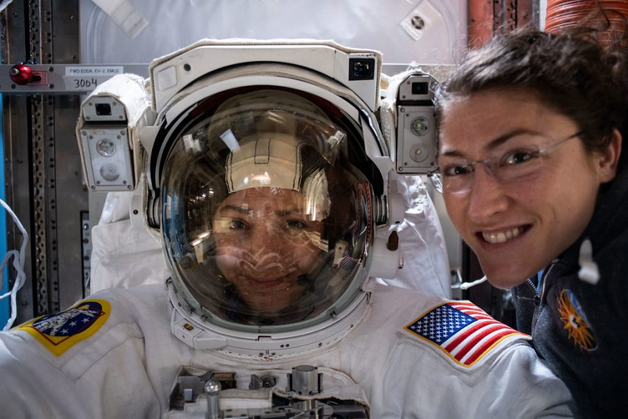 NASA completes the first female spacewalk