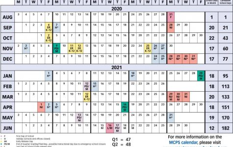 MCPS releases the new 2020-2021 calendar.