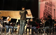 Chorus, band, and orchestra put on Winter Concert