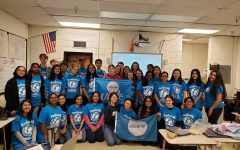 UNICEF Club gathers in-person in the previous school year, though unable to do the same at the start of the 2020-21 school year.