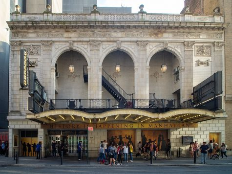 Richard Rodgers Theater, Hamiltons regular venue, will remain closed through May 2021.