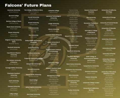 Senior Class Profile and Future Plans
